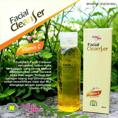 Collaskin Facial Cleanser Asli Original NASA
